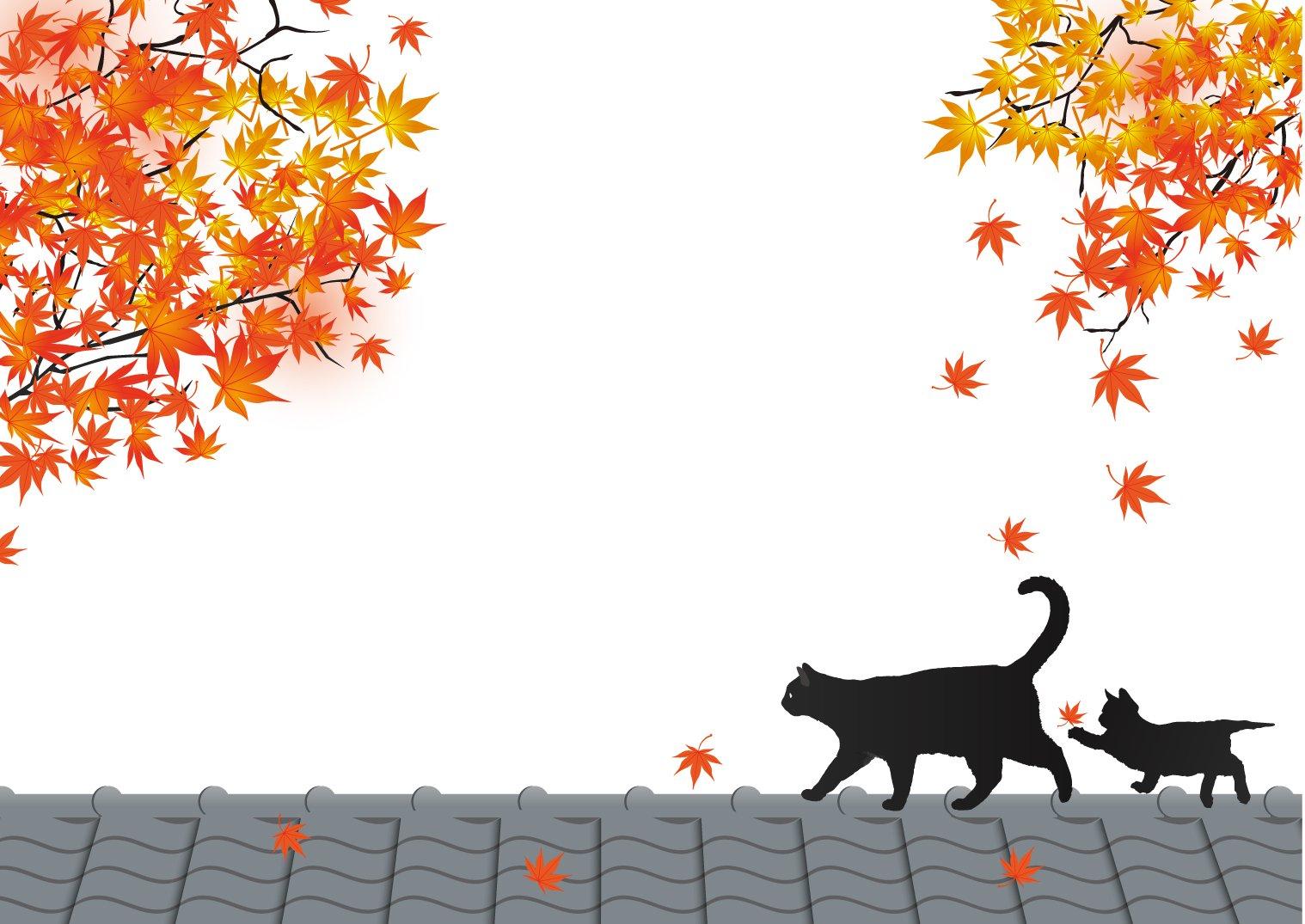 猫のおしゃれな無料イラスト集!フリー素材からシルエットや壁紙画像